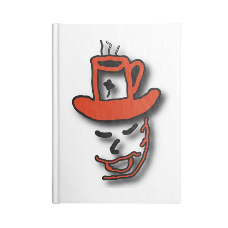 Coffee Hat Man Accessories Lined Journal Notebook by #woctxphotog's Artist Shop