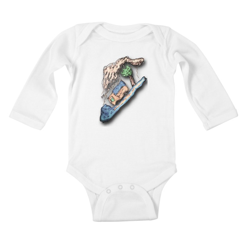 Dont Know Where I Am Going Kids Baby Longsleeve Bodysuit by #woctxphotog's Artist Shop