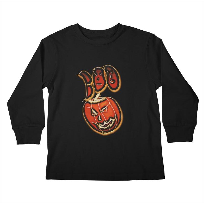 Boo Kids Longsleeve T-Shirt by #woctxphotog's Artist Shop