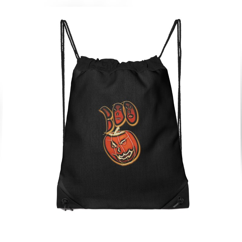 Boo Accessories Drawstring Bag Bag by #woctxphotog's Artist Shop