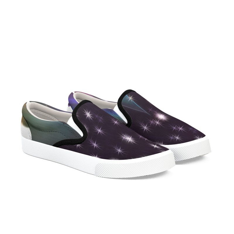 Seasons Greetings Women's Slip-On Shoes by #woctxphotog's Artist Shop