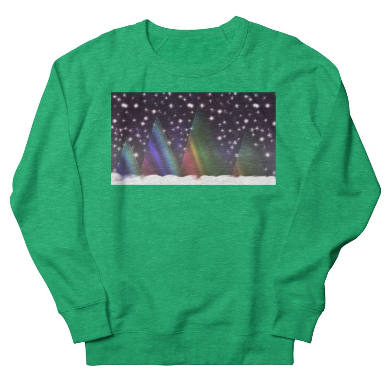 Seasons Greetings Women's French Terry Sweatshirt by #woctxphotog's Artist Shop