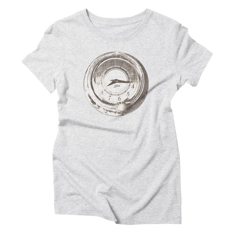 Old Time Women's Triblend T-Shirt by #woctxphotog's Artist Shop