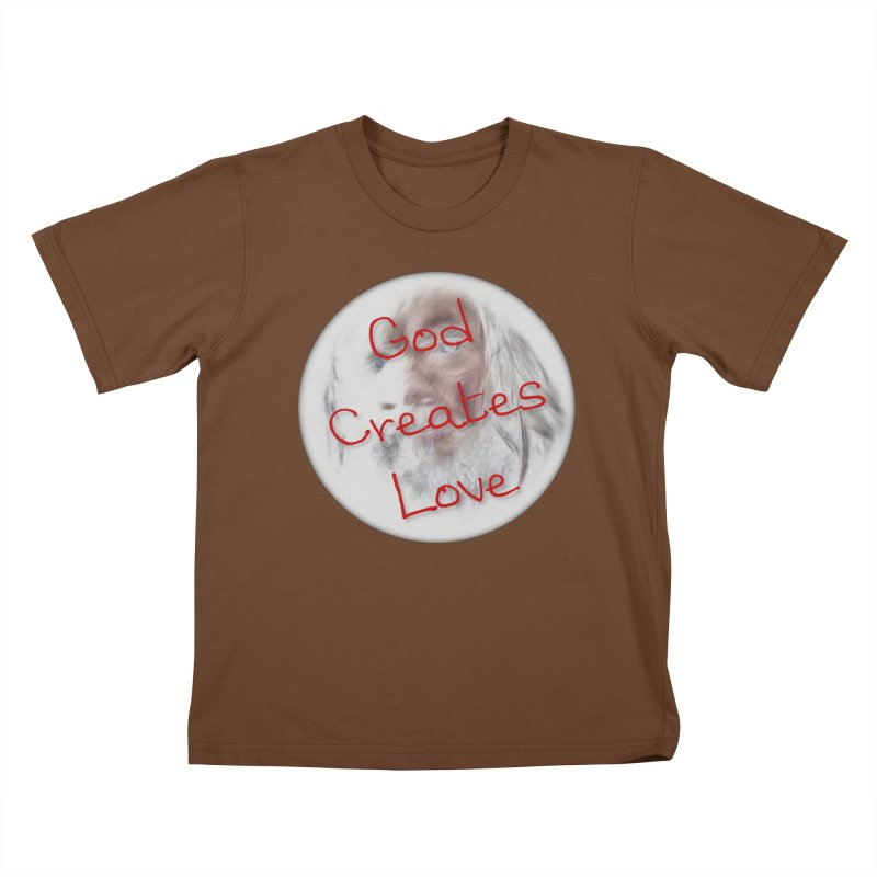 God Creates Love Kids T-Shirt by #woctxphotog's Artist Shop