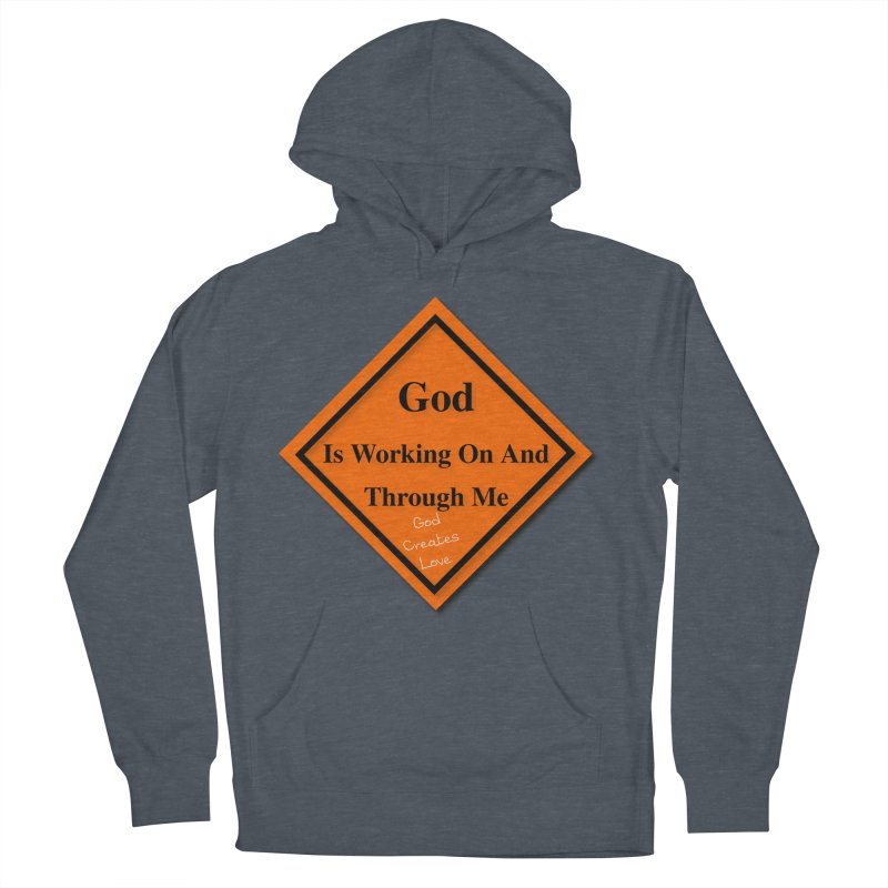 God Is Working Women's French Terry Pullover Hoody by #woctxphotog's Artist Shop