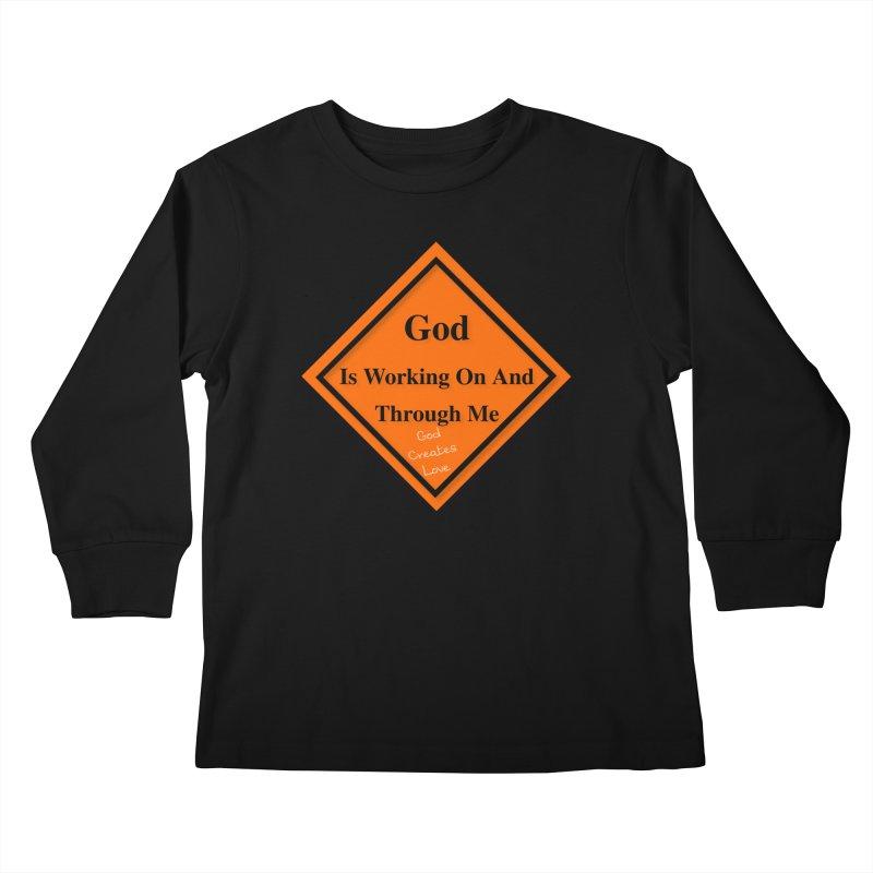 God Is Working Kids Longsleeve T-Shirt by #woctxphotog's Artist Shop
