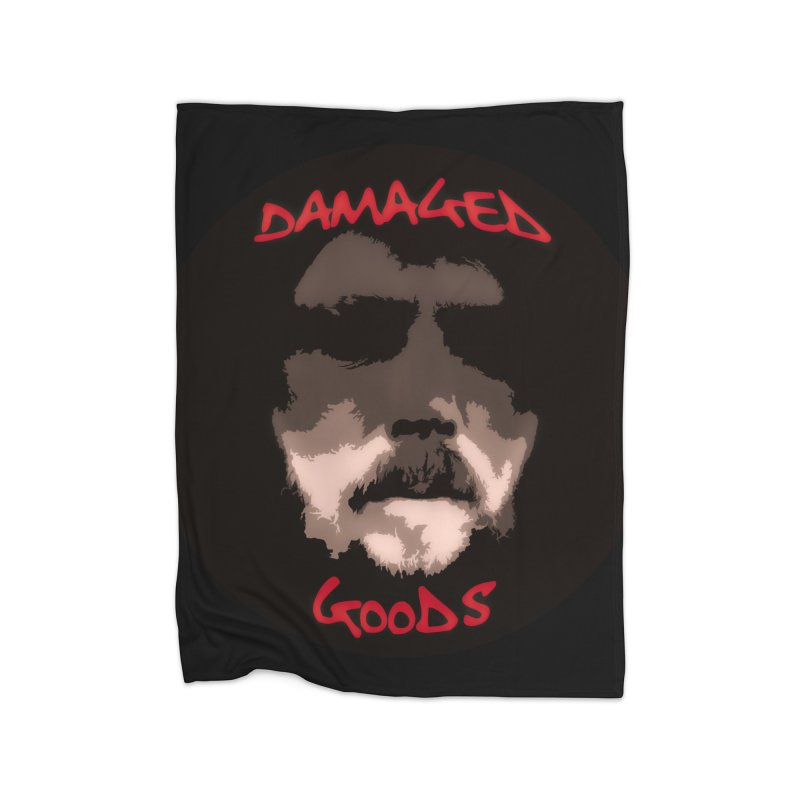 Damaged Goods Home Fleece Blanket Blanket by #woctxphotog's Artist Shop