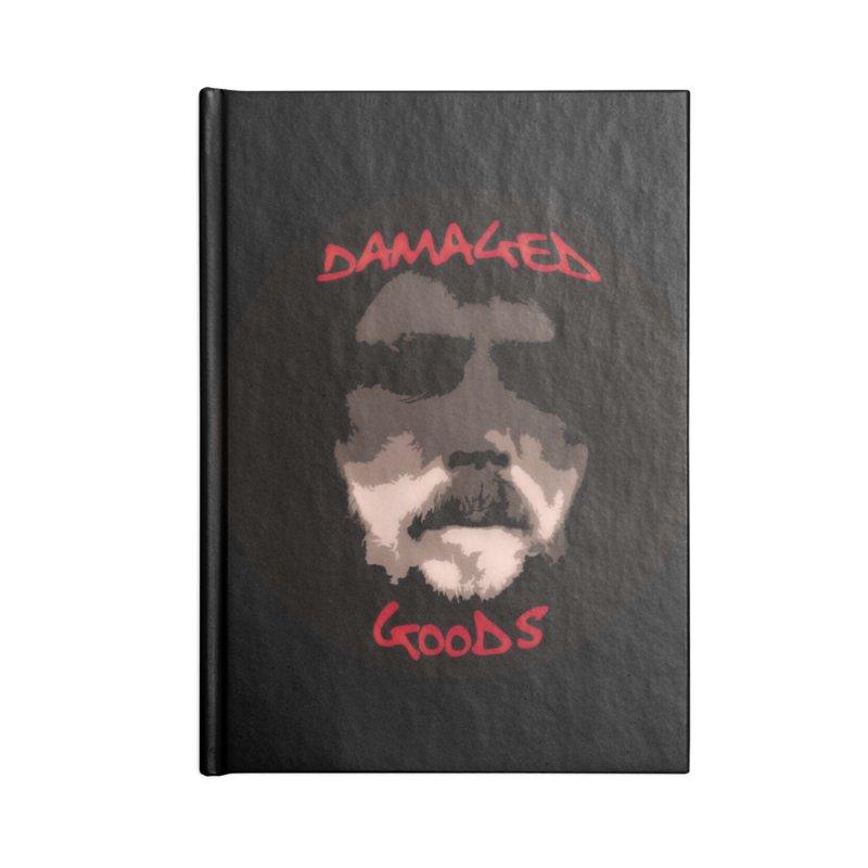 Damaged Goods Accessories Lined Journal Notebook by #woctxphotog's Artist Shop