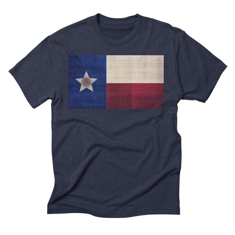 Flag of Texas Men's Triblend T-Shirt by #woctxphotog's Artist Shop