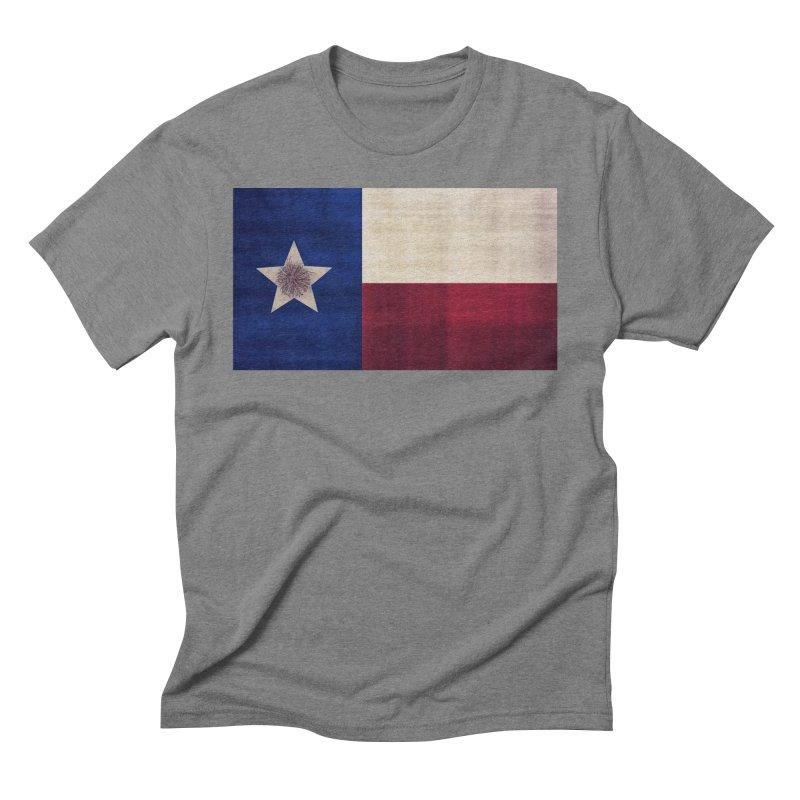 Flag of Texas Men's Triblend T-Shirt by #woctxphotog's Artist Shop