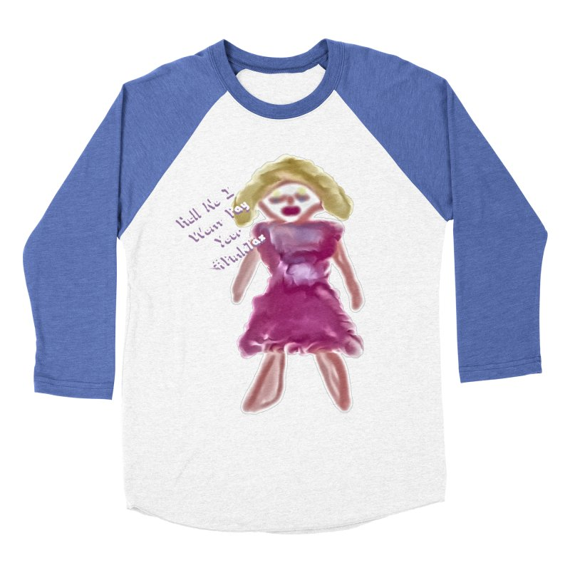 Hell No I Wont Pay Your #PinkTax Women's Baseball Triblend Longsleeve T-Shirt by #woctxphotog's Artist Shop
