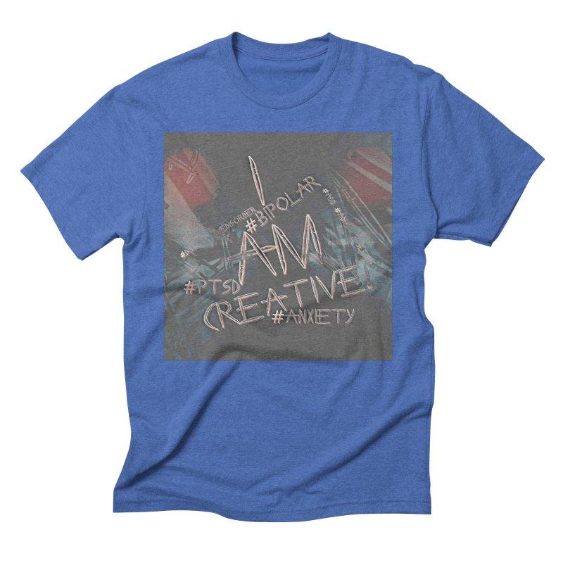 I Am Creative Men's T-Shirt by #woctxphotog's Artist Shop