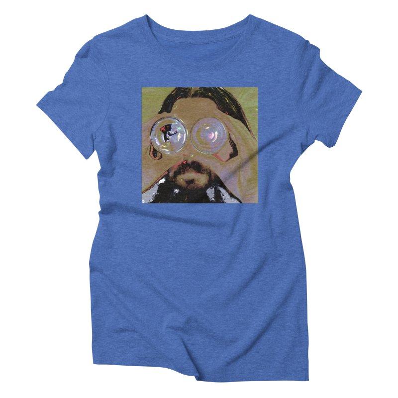 Look Weird Women's Triblend T-Shirt by #woctxphotog's Artist Shop