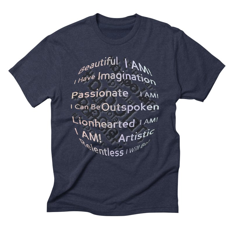 I Am Men's Triblend T-Shirt by #woctxphotog's Artist Shop