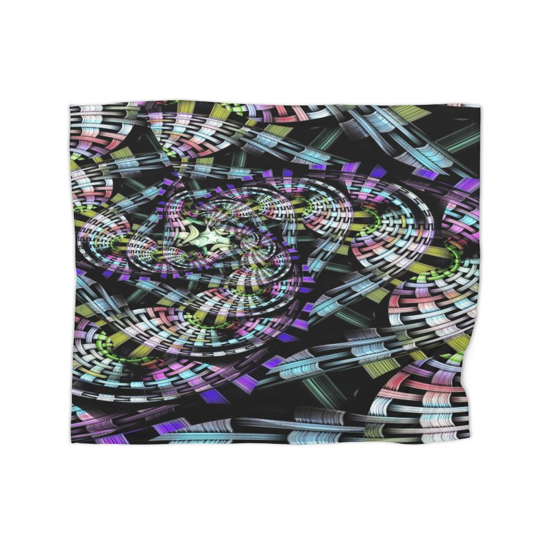 Crazy Chaos Home Fleece Blanket Blanket by #woctxphotog's Artist Shop