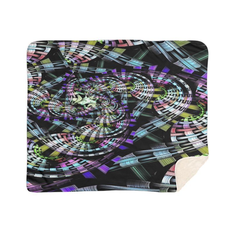 Crazy Chaos Home Sherpa Blanket Blanket by #woctxphotog's Artist Shop