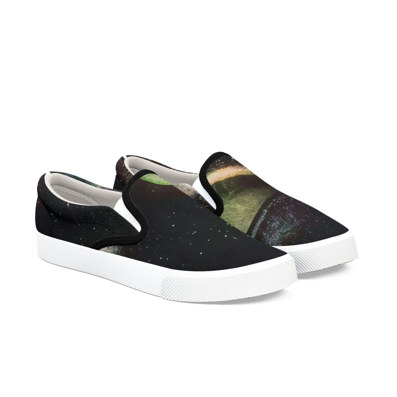 Out There Women's Slip-On Shoes by #woctxphotog's Artist Shop