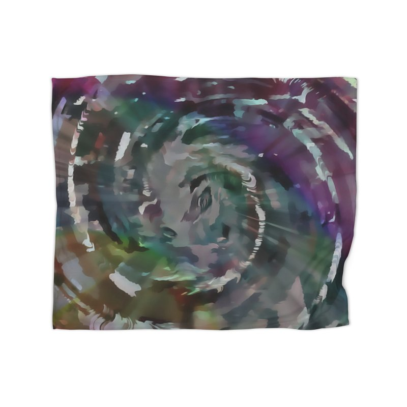 Turbulent Confusion Home Fleece Blanket Blanket by #woctxphotog's Artist Shop