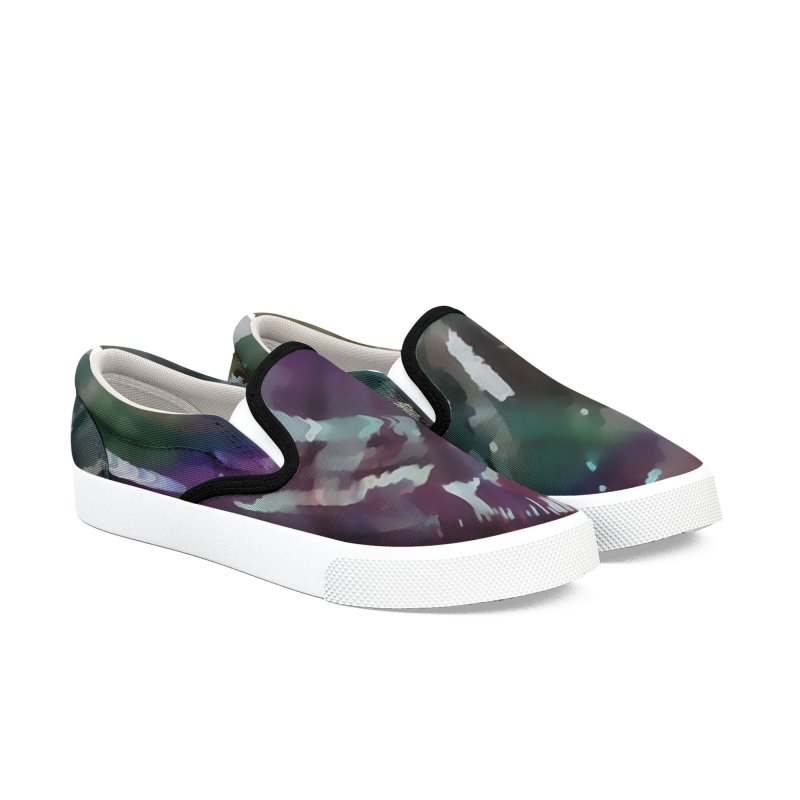 Turbulent Confusion Men's Slip-On Shoes by #woctxphotog's Artist Shop