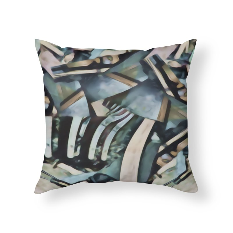 Discombobulated Crap Home Throw Pillow by #woctxphotog's Artist Shop