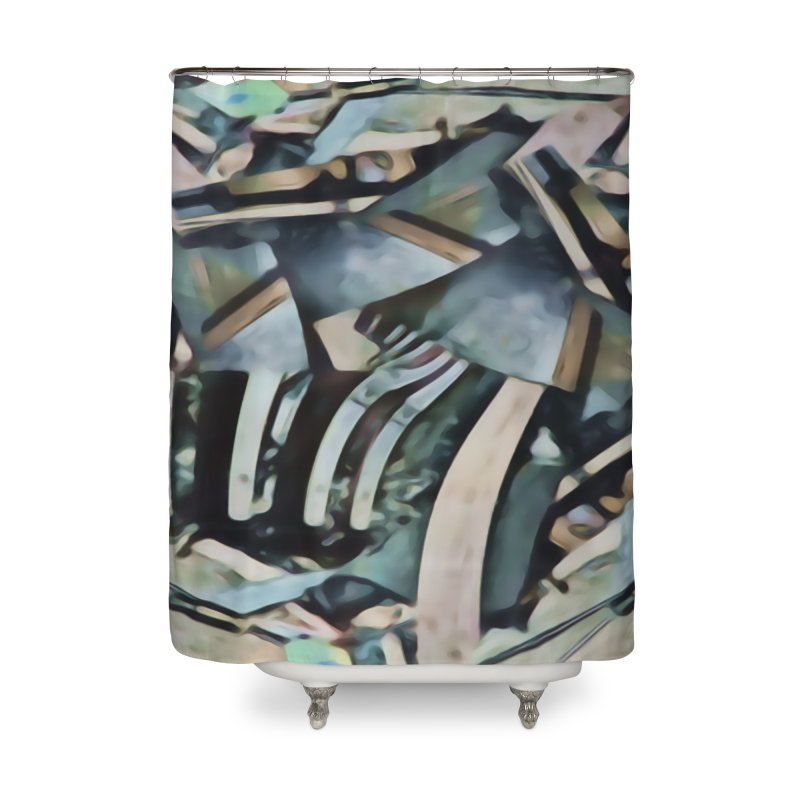 Discombobulated Crap Home Shower Curtain by #woctxphotog's Artist Shop