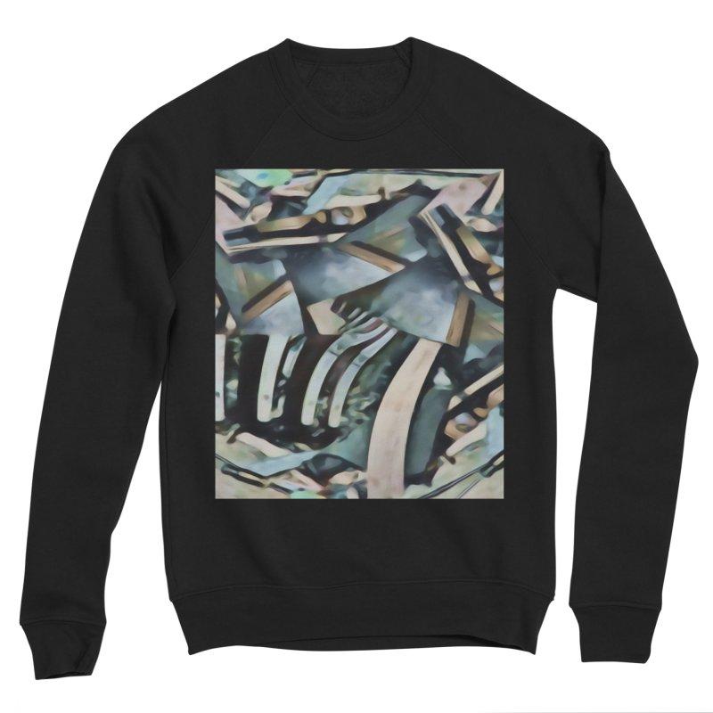 Discombobulated Crap Men's Sponge Fleece Sweatshirt by #woctxphotog's Artist Shop