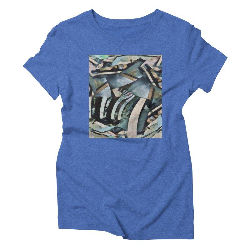 Discombobulated Crap Women's Triblend T-Shirt by #woctxphotog's Artist Shop