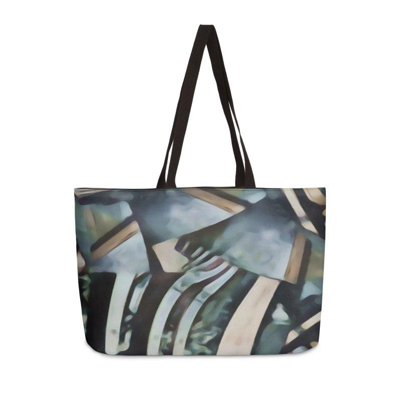 Discombobulated Crap Accessories Weekender Bag Bag by #woctxphotog's Artist Shop