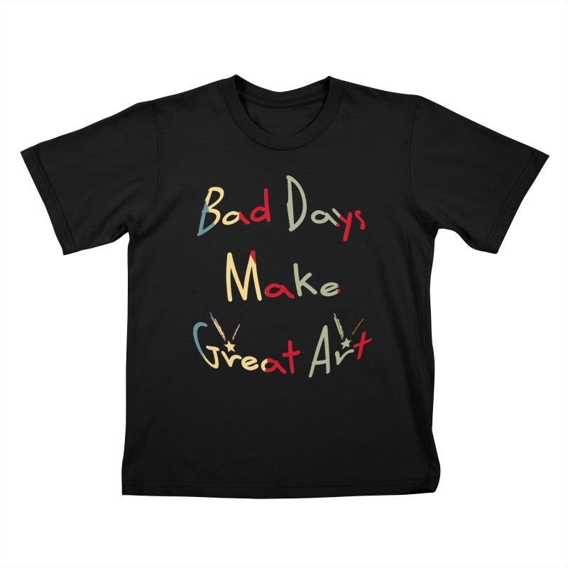 Bad Days Kids T-Shirt by #woctxphotog's Artist Shop