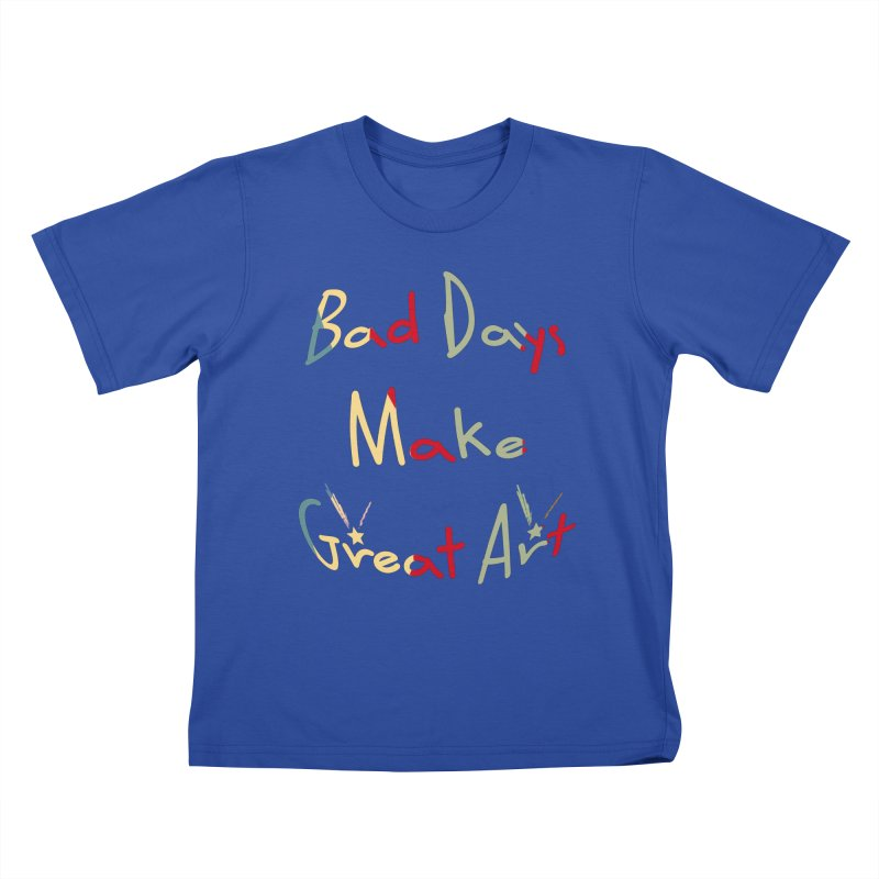 Bad Days Kids T-Shirt by #woctxphotog's Artist Shop