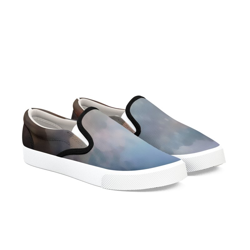 Blended LandScapes Men's Slip-On Shoes by #woctxphotog's Artist Shop