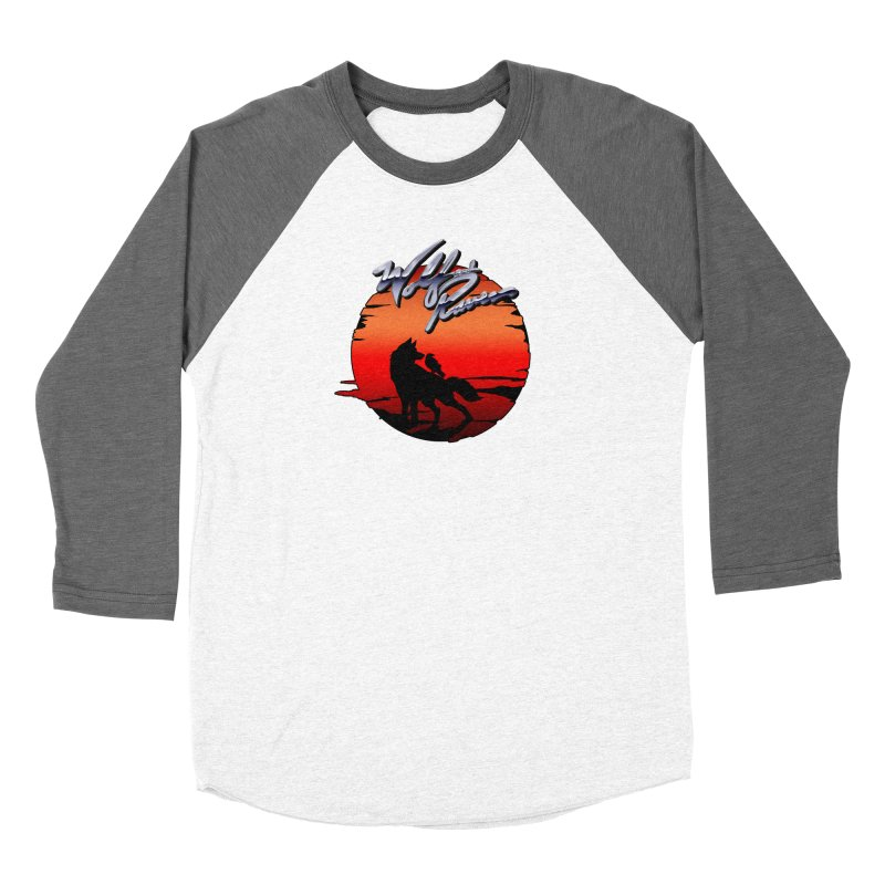 Wolf and Raven Sunset 1 Women's Longsleeve T-Shirt by Wolf and Raven Artist Shop