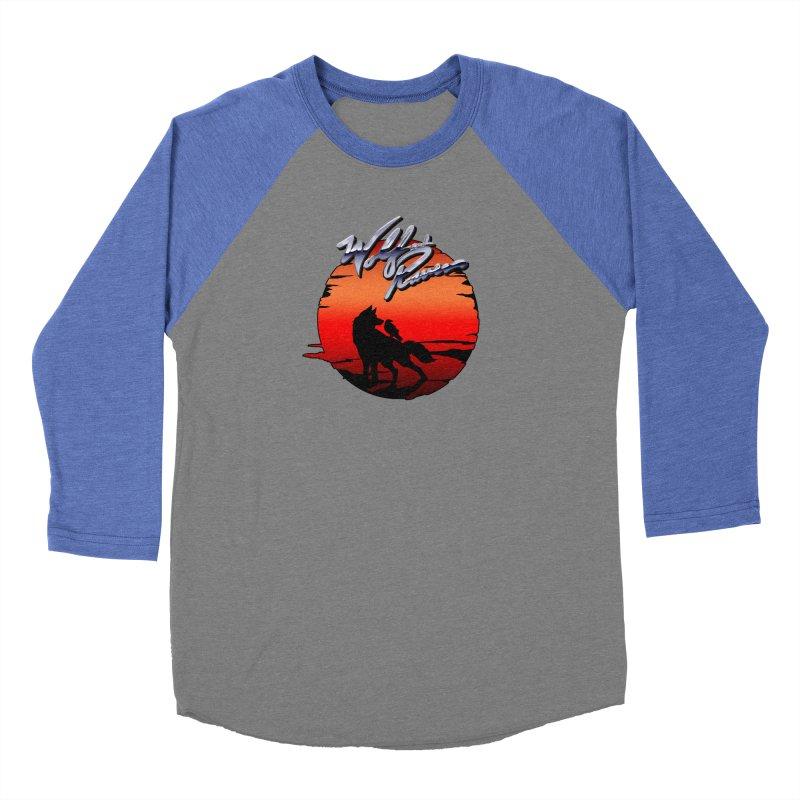 Wolf and Raven Sunset 1 Women's Baseball Triblend Longsleeve T-Shirt by Wolf and Raven Artist Shop