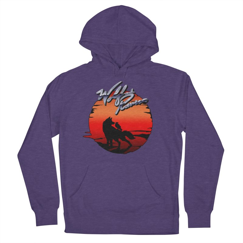 Wolf and Raven Sunset 1 Men's French Terry Pullover Hoody by Wolf and Raven Artist Shop