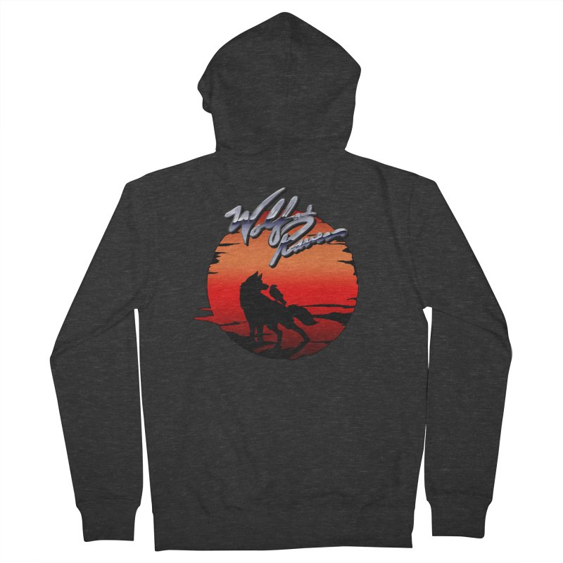Wolf and Raven Sunset 1 Women's French Terry Zip-Up Hoody by Wolf and Raven Artist Shop