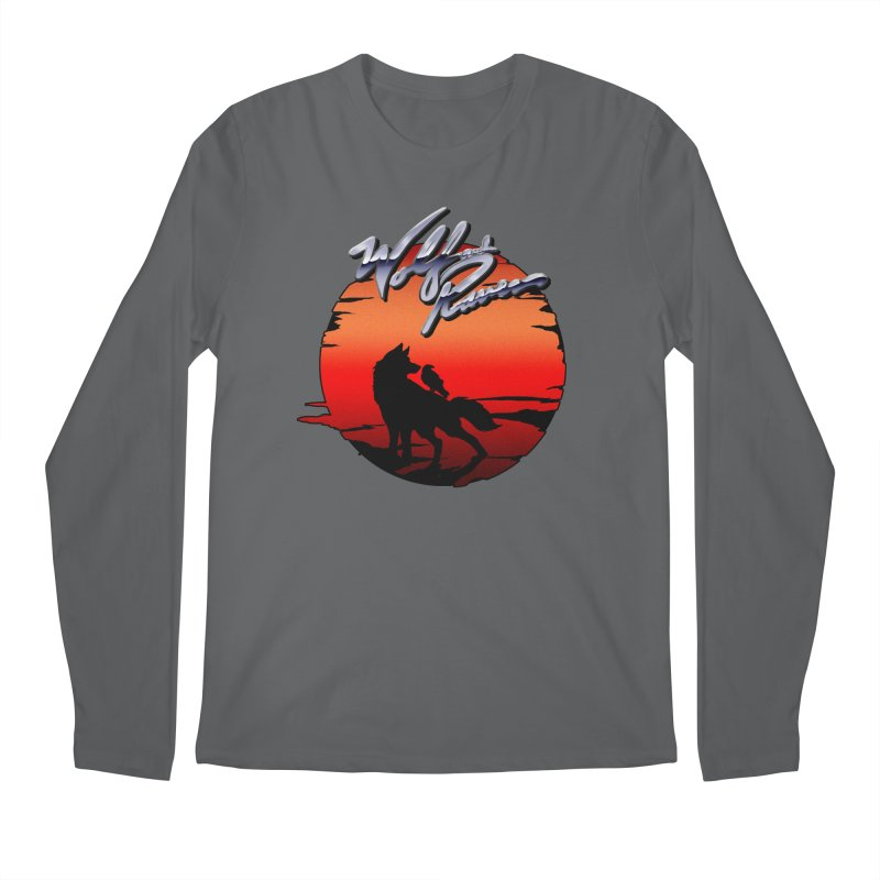 Wolf and Raven Sunset 1 Men's Longsleeve T-Shirt by Wolf and Raven Artist Shop