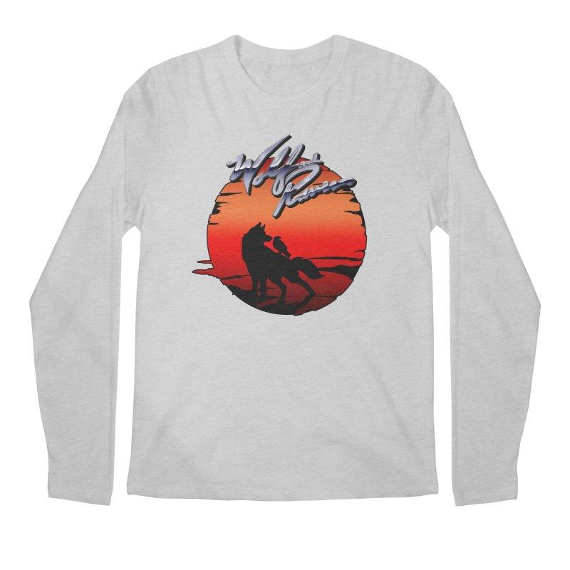 Wolf and Raven Sunset 1 Men's Regular Longsleeve T-Shirt by Wolf and Raven Artist Shop