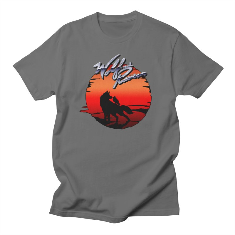Wolf and Raven Sunset 1 Men's T-Shirt by Wolf and Raven Artist Shop