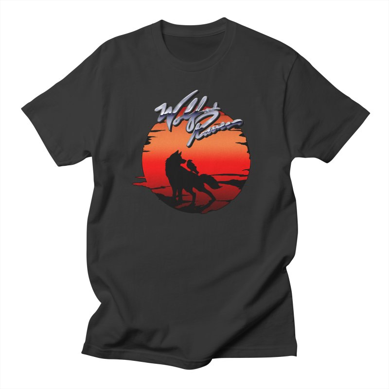Wolf and Raven Sunset 1 Men's Regular T-Shirt by Wolf and Raven Artist Shop