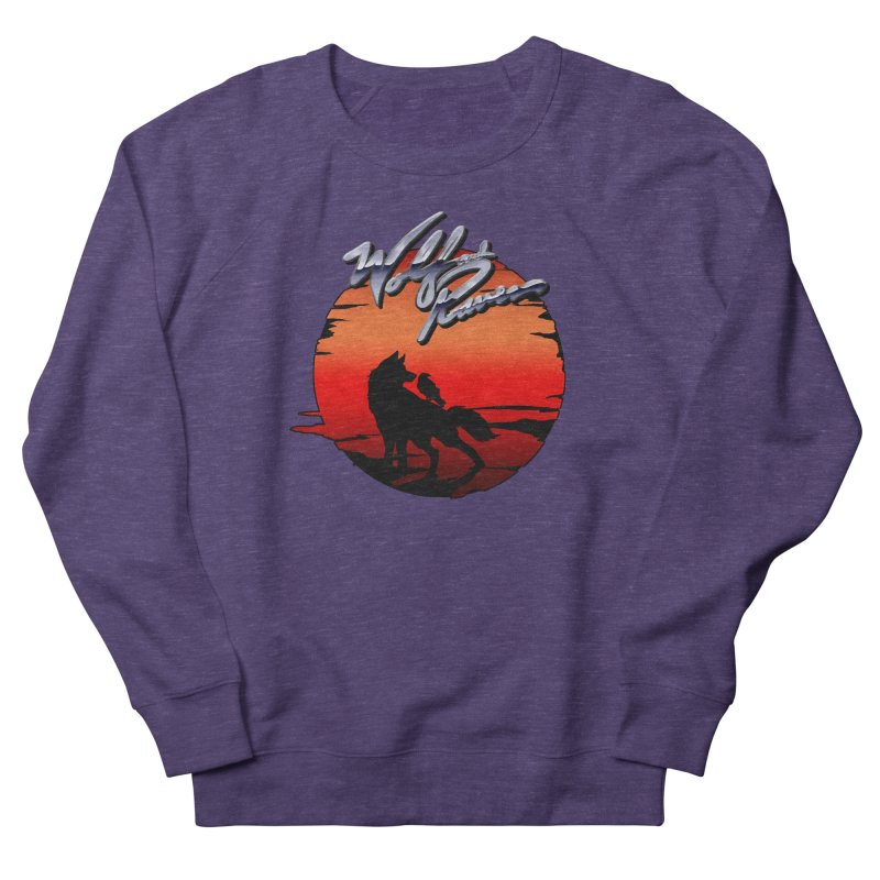 Wolf and Raven Sunset 1 Women's French Terry Sweatshirt by Wolf and Raven Artist Shop