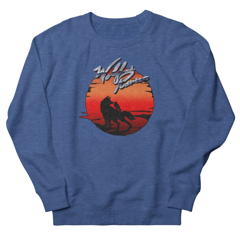 Wolf and Raven Sunset 1 Men's Sweatshirt by Wolf and Raven Artist Shop