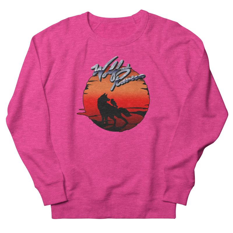Wolf and Raven Sunset 1 Men's French Terry Sweatshirt by Wolf and Raven Artist Shop