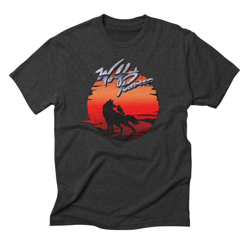 Wolf and Raven Sunset 1 Men's Triblend T-Shirt by Wolf and Raven Artist Shop