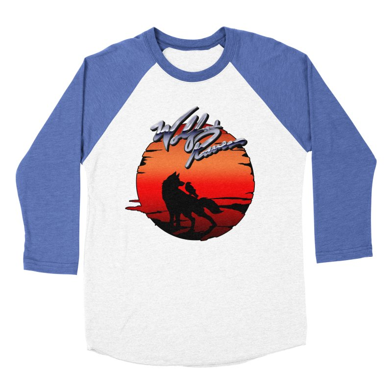 Wolf and Raven Sunset 1 Women's Baseball Triblend Longsleeve T-Shirt by Wolf and Raven Artist Shop