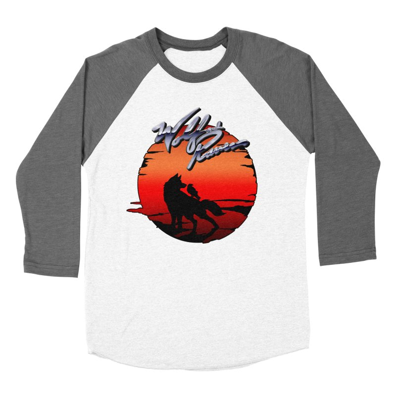 Wolf and Raven Sunset 1 Men's Baseball Triblend Longsleeve T-Shirt by Wolf and Raven Artist Shop