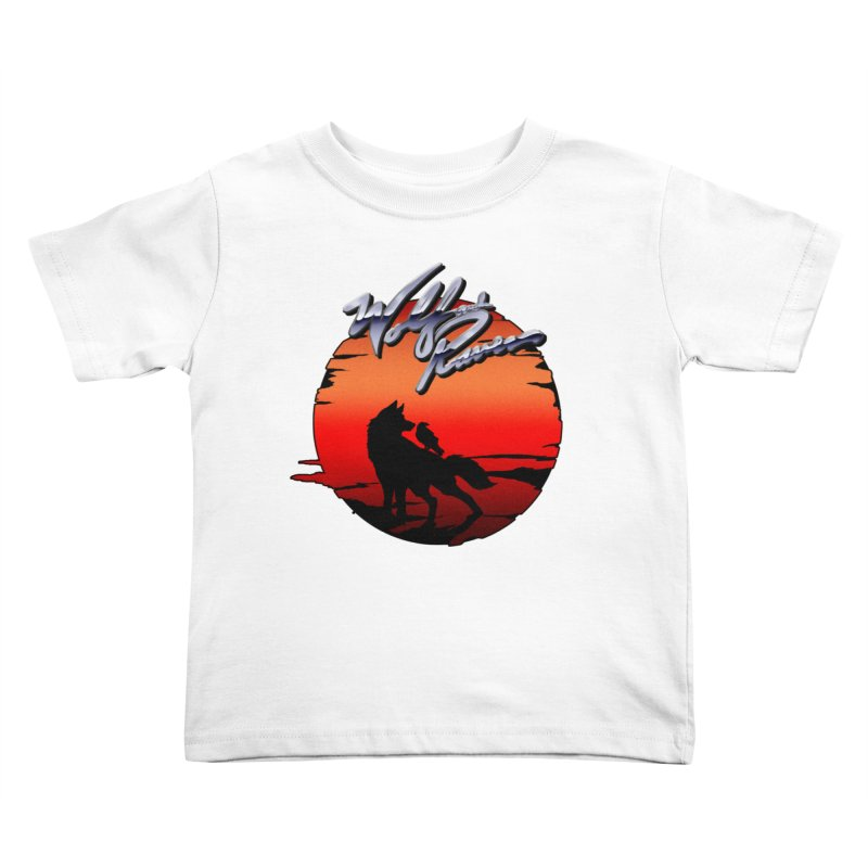 Wolf and Raven Sunset 1 Kids Toddler T-Shirt by Wolf and Raven Artist Shop