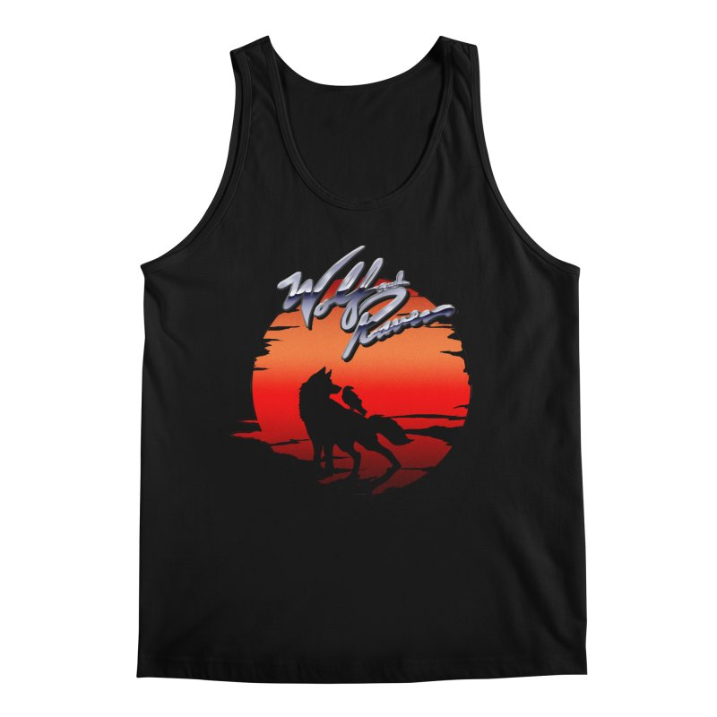 Wolf and Raven Sunset 1 Men's Regular Tank by Wolf and Raven Artist Shop