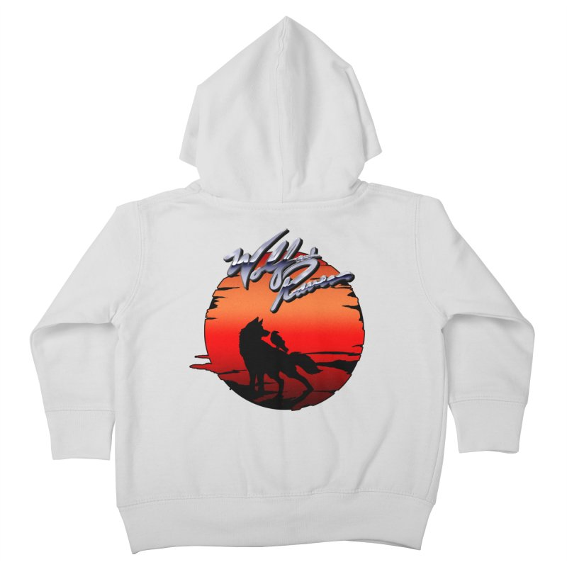 Wolf and Raven Sunset 1 Kids Toddler Zip-Up Hoody by Wolf and Raven Artist Shop