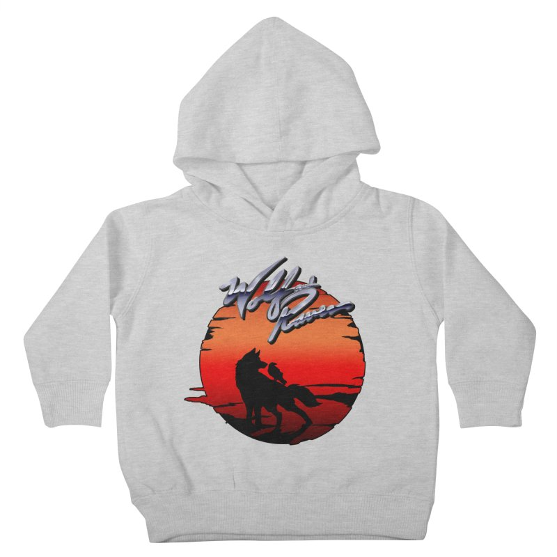 Wolf and Raven Sunset 1 Kids Toddler Pullover Hoody by Wolf and Raven Artist Shop