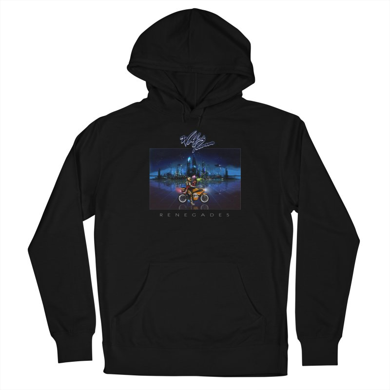 Wolf and Raven Renegades Artwork Men's French Terry Pullover Hoody by Wolf and Raven Artist Shop